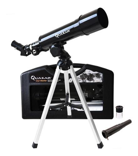 Telescopio Quasar Q50 Starter Cristal Original Con Maleta