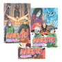 Mangá Naruto Gold Lote Com 3 Volumes Lacrados Original
