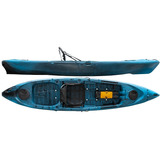 Kayak Hidro2eko Caiman 125 Azul Midnight - Kayaks Feelfree
