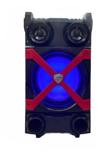 Parlante Bluetooth Portatil Karaoke 12´´ Microfono Carrito