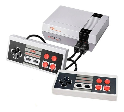 Consola Level Up Retro Nes Av 8 Bits 500 Juegos 2 Joystick