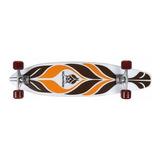 Longboard Skate Mor Row Moari Truck Aluminio Ruedas Pu