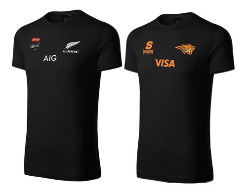 Pack X2 Remeras Rugby Algodon
