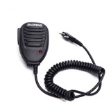 Microfone Mini Ptt Para Ht Radio Baofeng 5r 6r 777s Original