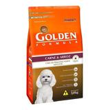 Alimento Golden Premium Especial Formula Para Cachorro Adulto De Raça Pequena Sabor Carne/arroz Em Saco De 3kg