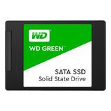 Disco Sólido Ssd Interno Western Digital Wd Green Wds480g2g0a 480gb Verde