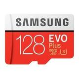 Tarjeta De Memoria Samsung Mb-mc128ga/eu  Evo Plus Con Adaptador Sd 128gb