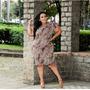 Vestido Tubinho Manguinha Plus Size  Tam G3/54 Original
