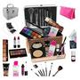 Maleta Completa Com Maquiagem Ruby Rose Luisance + Brinde Original