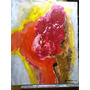 Pintura De Adão Mestriner, Abstrata..acrílico Sobre Tela Original