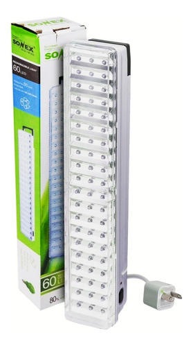 Luces Luz Emergencia 60 Leds Slt Recargable 220v Envios