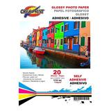 Papel Fotografico Adhesivo 200 Hojas A4 Alta Resolucion