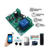 Smart Rele Wifi+rf Ewelink 1 Canal Na/nc  5vdc / 7-32v Ac/dc