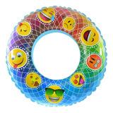 Salvavidas Flotador Para Niños Emojis 80 Cm