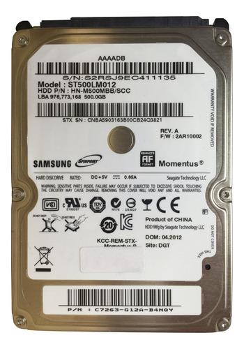 Disco Duro Interno Samsung Spinpoint M8 Hn-m500mbb 500gb