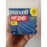 Caja Diskette Maxell Mf 2hd