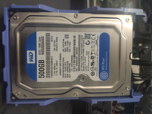 Disco Duro Rigido Wd Blue 500gb Hdd