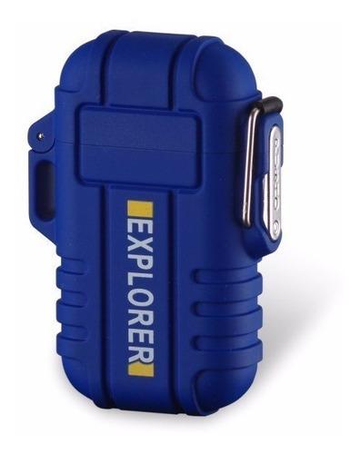 Encendedor Electrónico Plasma Recargable Uso Rudo Camping