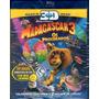 Blu Ray Madagascar 3 Os Procurados 3d Duplo - Novo Lacrado! Original