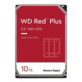 Disco Duro Interno Western Digital Wd Red Plus Wd101efbx 10tb Rojo