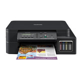 Impresora A Color Multifunción Brother Dcp-t5 Series Dcp-t510w Con Wifi 220v - 240v Negra