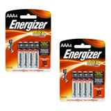 Pack X 2 Blister Pilas  Energizer A A A  Blister X 4 C/u
