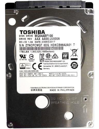 Disco Duro Toshiba 2.5 1tb Ps4 Notebook + Envio Gratis