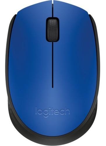 Mouse Inalámbrico Logitech M170 Azul, Rojo, Negro Nuevo