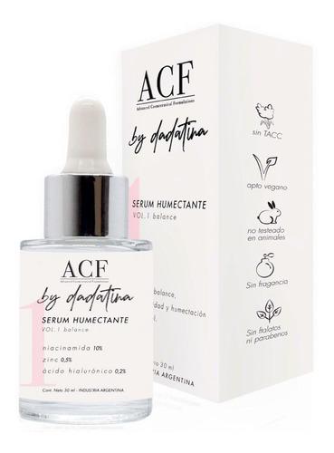Serum Humectante Acf By Dadatina 30ml Balance Niacinamida