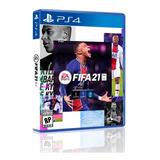 Fifa 21 Ps4 Físico Original Nuevo Sellado Español Latino