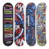 Skate Patineta Diseños Surtidos 78x20cm Día Del Niño