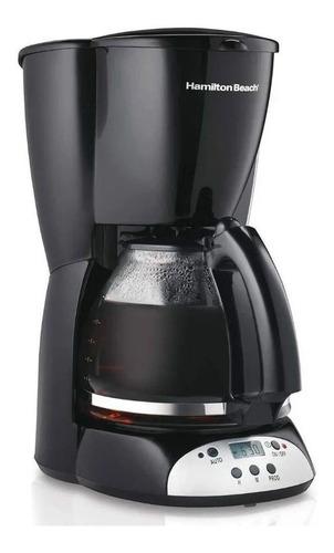 Cafetera Programable Hamilton Beach 49465r 12tazas Reloj/tem