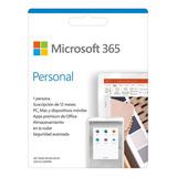 Licencia Microsoft 365 Personal 1 Año