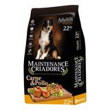 Alimento Maintenance Criadores  Para Perro Adulto Todos Los Tamaños Sabor Carne/pollo En Bolsa De 22kg