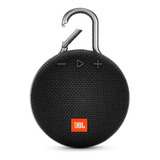 Parlante Jbl Clip 3 Portátil Con Bluetooth Midnight Black