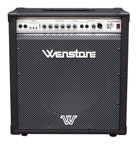 Amplificador Bajo Wenstone Be1200 120 W Parlante 15''