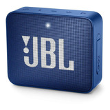 Bocina Jbl Go 2 Portátil Con Bluetooth Deep Sea Blue