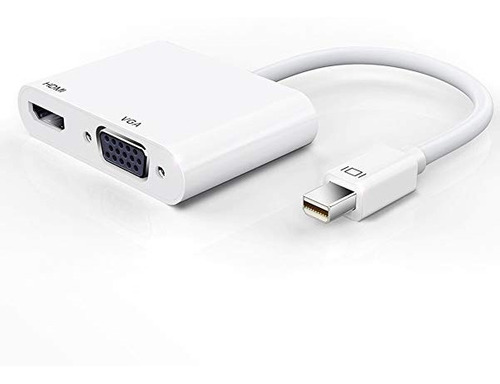 Cable Adaptador Thunderbolt Mini Displayport Hdmi 4k Vga Mac
