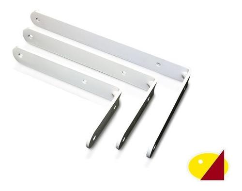 Mensula Escuadra Soporte Para Estante - Super Planchuela Hierro 20cm