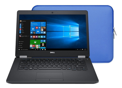 Notebook Dell E5470 + Core I5 + 8 Gb Ram + 128gb Ssd + Win10