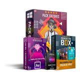 Mega Pack Projetos Editáveis Premiere E After Effects