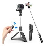 Monopod Baston Palo Selfies Celular Bluetooth Tripode
