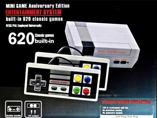 Consola Retro Mini Game 620 Juegos Clásicos 8 Bits