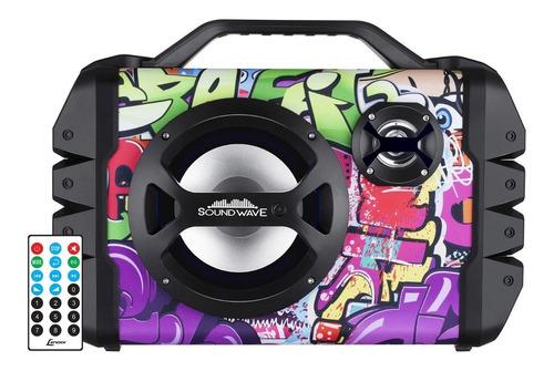 Caixa Som Bluetooth Amplificada Lenoxx Sound Wave Ca335 120w