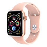 Smartwatch Microwear W26 1.75  Caja De  Aleación De Zinc  Oro Rosa