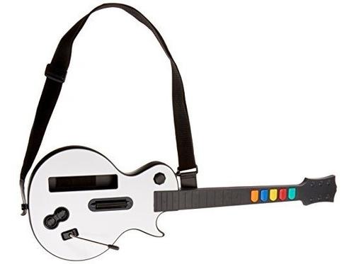 Guitarra Inalámbrica Para Wii Guitar Hero Y Rock Band (exclu