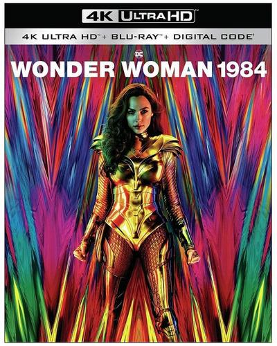 Wonder Woman 1984 4k + Blu Ray   Nuevo Importado
