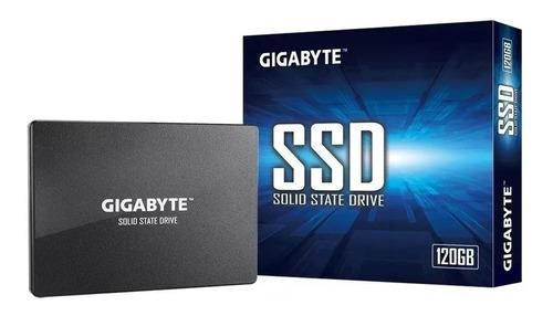 Disco Solido 120gb Gigabyte Ssd 500 Mb/s 2.5 Pulgadas Gamer