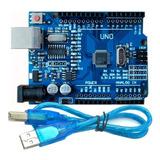 Arduino Uno R3 Compatible Atmel Atmega328 + Ch340g Domotica