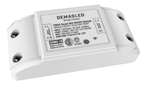Interruptor Wifi Para Domótica Basic Smart Switch Demasled